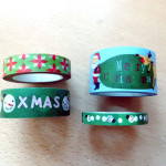 1. Advent: Weihnachtskarte mit Washi Tape