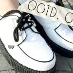 Outfit of the Day: Weiße Creepers