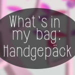 What's in my Bag: Reiseedition