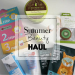Summer Beauty Haul: Korean Skincare, Macadamia Oil, First Aid Beauty und mehr